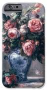 Vase Of Roses IPhone Case by Pierre Auguste Renoir