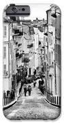 Vers Le Haut De La Rue IPhone Case by John Rizzuto