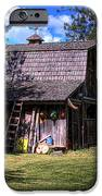 Vic Moore's Barn IPhone Case by David Patterson