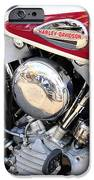 Vintage Harley V Twin IPhone Case by David Lee Thompson