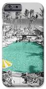 Vintage Miami IPhone Case by Andrew Fare