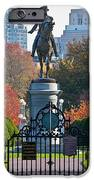 Washington Statue In Autumn IPhone Case by Susan Cole Kelly