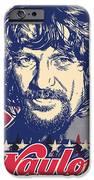 Waylon Jennings Pop Art IPhone Case by Jim Zahniser