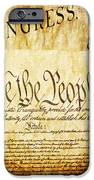 We The People IPhone Case by Angelina Vick