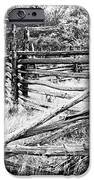 Weathered Fence IPhone Case by Larry Ricker
