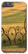Wheels Of The Palouse IPhone Case by Sandra Bronstein