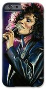 Whitney Houston IPhone Case by Tom Carlton