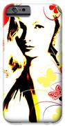 Wistful Flutter IPhone Case by Chris Andruskiewicz