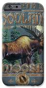 Woodlands Moose Sign IPhone Case by JQ Licensing