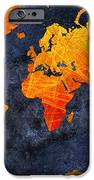 World Map - Elegance Of The Sun - Fractal - Abstract - Digital Art 2 IPhone Case by Andee Design