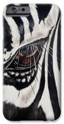 Zebra Eye IPhone Case by Ilse Kleyn