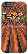 Zoned IPhone Case by Wendy J St Christopher