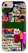 Atomic Bomb Of Purity 5 IPhone Case by David Baruch Wolk