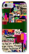 Atomic Bomb Of Purity 5a IPhone Case by David Baruch Wolk