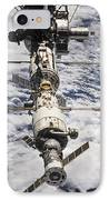 International Space Station IPhone Case by Anonymous