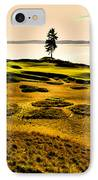 #15 At Chambers Bay Golf Course - Location Of The 2015 U.s. Open Tournament IPhone Case by David Patterson