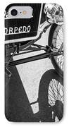 1911 Ford Model T Torpedo Grille Emblem IPhone Case by Jill Reger