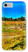#4 At Chambers Bay Golf Course - Location Of The 2015 U.s. Open Championship IPhone Case by David Patterson