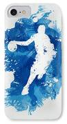 Basketball Player IPhone Case by Aged Pixel