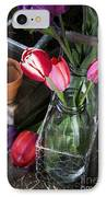 Beautiful Spring Tulips IPhone Case by Edward Fielding