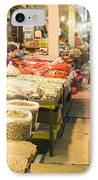 Bujeon Market In Busan IPhone Case by Tuimages
