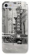 Chicago Theatre - French Baroque Out Of A Movie IPhone Case by Christine Till