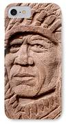 Chief-iron-tail IPhone Case by Gordon Punt