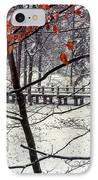 Early Snow IPhone Case by Bob Phillips