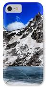 Emerald Lake In Rocky Mountain National Park IPhone Case by Dan Sproul