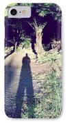 Forest Shadow IPhone Case by Les Cunliffe