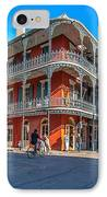 French Quarter Afternoon IPhone Case by Steve Harrington