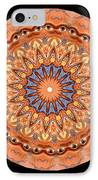 Kaleidoscope Anatomical Illustrations Seriesi IPhone Case by Amy Cicconi