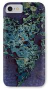 Mechanical - Heart IPhone Case by Fran Riley