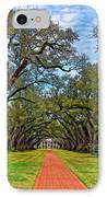 Oak Alley 3 IPhone Case by Steve Harrington