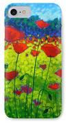 Poppy Field IPhone Case by John  Nolan