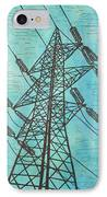 Power IPhone Case by William Cauthern