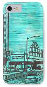 Seaholm IPhone Case by William Cauthern