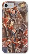 The 5th Division Storming By Escalade IPhone Case by William Barnes Wollen