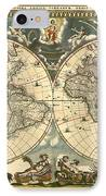 World Map IPhone Case by Gary Grayson