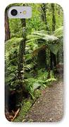 Forest Trail IPhone Case by Les Cunliffe