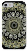 Kaleidoscope Ernst Haeckl Sea Life Series IPhone Case by Amy Cicconi