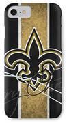New Orleans Saints IPhone Case by Joe Hamilton
