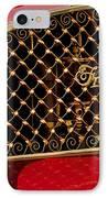 1904 Franklin Open Four Seater Grille Emblem IPhone Case by Jill Reger