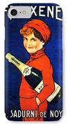 1920 - Freixenet Wines - Advertisement Poster - Color IPhone Case by John Madison