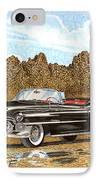 1953 Cadillac Eldorado Biarritz IPhone Case by Jack Pumphrey