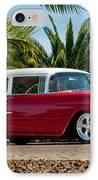 1955 Chevrolet 210 IPhone Case by Jill Reger