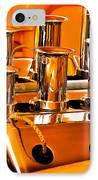 1956 Chrysler Hot Rod IPhone Case by Jill Reger