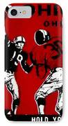 1979 Ohio State Vs Wisconsin Football Ticket IPhone Case by David Patterson