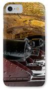 19th Century Cannon Line IPhone Case by Optical Playground By MP Ray