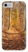 Autumn Trail IPhone Case by Brian Jannsen